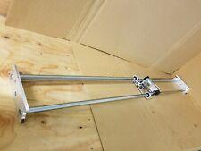 """Linear Slide Guide Shaft w/ Rack and Gearmotor 24VDC Globe Gearcase 60"""" Length"""