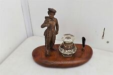 Tom O'Shanter Military Rifle man Ink well and Pen Stand