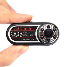 HD 1080P Mini Spy Hidden Camera Thumb DVR Camcorder 170 Degree IR Night Vision