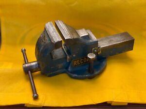 Peddinghaus Record Schraubstock 115 mm Parallelschraubstock geschmiedet