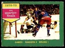 1973-74 O-Pee-Chee 1972-73 NHL Quarter-Finals (Series D) #194