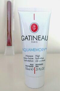 Gatineau AQUAMEMORY High Hydration Cream-Mask ,NEW, SEALED WITH MASK APPLICATOR