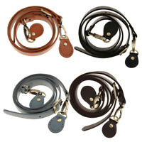 Genuine Leather Cowhide Replacement Bag Handbag Strap Adjustable Crossbody Accs