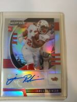 James Robinson 2020 Panini Prizm Draft Picks Rookie Silver Prizm Auto Jaguars RC
