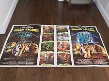 MOTEL HELL Huge 1 STOP Original Spanish Movie Poster 1980