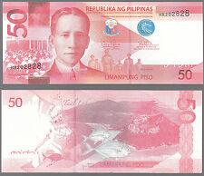 PILIPINAS  FILIPPINE PHILIPPINES  50 LIMAMPUNG  PISO  UNC FIOR DI STAMPA UNC