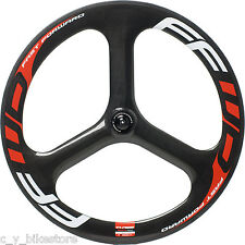 FFWD Fast Forward Three Carbon 3 Spoke Tubular Front Wheel
