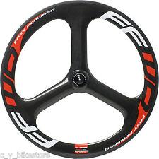FFWD Fast Forward Three Carbon 3 Spoke Tubular Front Wheel