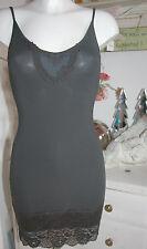 By timo ti Mo porteur-robe Dress tunique vintage dentelle anthracite size: xs NEUF