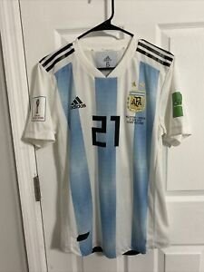 2018 World cup Argentina Match worn shirt Dybala Jersey Player issue Juventus