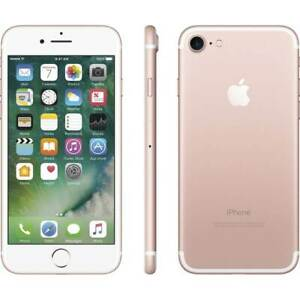 Apple iPhone 7 - 32GB - Rose Gold - Factory Unlocked - AT&T T-Mobile Verizon