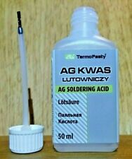 50ml  Soldering Acid/flux for difficult to solder surfaces especially for Nickel