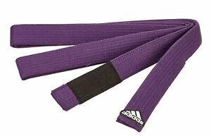 "Adidas BJJ-Gürtel purple ""Elite"", 40 mm  , für Brazilian Jiu Jitsu, Länge A1-A5"