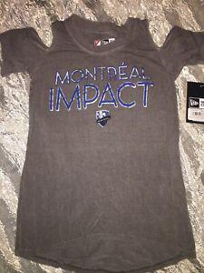 Montreal Impact Girls T-Shirt Size 6 New Era Fanatics