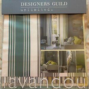 Designers Guild - Lavandou    - Fabric Sample Book