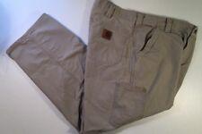 Carrhartt - Mens Khaki Cargo Pants 6 Pockets 38 X 30