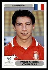 Panini Champions League 2000/2001 - Pablo Andres Contreras AS Monaco No. 156