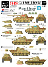 Star Decals 35-876, Decals for Panther Ausf. D Summer of 43