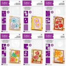 *NEW 2020* Crafter's Companion Layering Floral Stencils