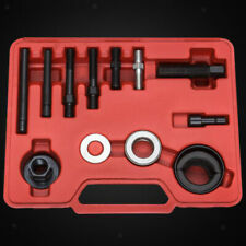 12Pc Steel Power Steering Pulley Puller Remover Installer Tool W/ Carry Case