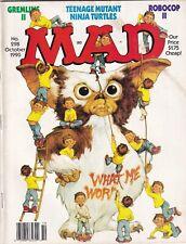 Mad Magazine TMNT & Gremlins 2 October 1990 051919nonr