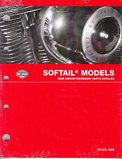 2008 Harley Softail FX/FL Springer Deuce Heritage Classic Parts Catalog Manual