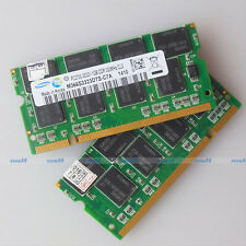 Samsung 2GO 2x1GO PC2700 DDR333 333Mhz 200PIN Laptop SO-DIMM Memory 1G RAM NEW