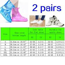 Waterproof Rain Thicken High-top Non-slip Shoes Cycling Boots Cover with Zipper