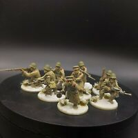 Well Painted 28mm Bolt Action Soviet Infantry rifle squad #2 Ww2 Warlord Games
