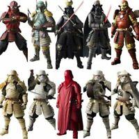"7"" PVC Star Wars Movie Action Figure Darth Maul Realization Darth Vader Samurai"