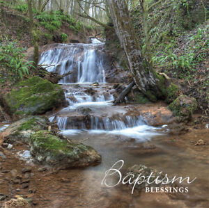 Adult Baptism Card ~ Baptism Blessings ~ Waterfall Catholic / Christian