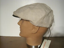 STETSON linen cotton blend 8 panel driving Cap hat XL