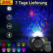 Galaxie projektor LED Mit Musik Schwarz/Weiß Nachtlicht Licht