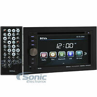 Boss BV9351B Double DIN Bluetooth In-Dash Car Audio Stereo Open Box (Complete)