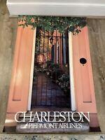 "Piedmont Airlines Charleston Poster 24"" X 36"""