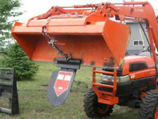 Quick Spade Combo - Skid Steer Tractor Trencher Loader Bucket / Fork Attachment