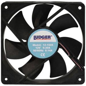 """Nippon 121545 12V Mini Fan 1.5"""" X 4.5"""""""