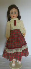 """1950's ~ 60's 18"""" Jointed Fashion Doll in Very Good Vintage Condition"""