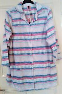 Women's Fleece Nightshirt/Loungewear Size UK 20/22
