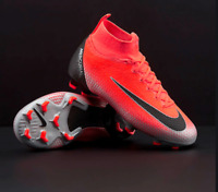 Nike Mercurial Jr Superfly 6 Elite CR7 FG Kids Soccer Cleats Size 6Y AJ3086-600