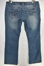 Angels Jeans Boot Cut Bootcut Womens Stretch Sz 17 Meas. 34x32 Medium Wash