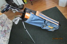 (116) MRH Integra irons and woods putter Ping collegiate bag $ 95.00 free ship