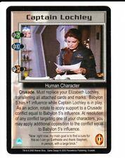 BABYLON 5 CCG Crusade  CAPTAIN LOCHLEY