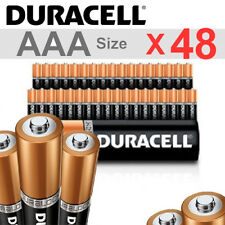 * # 48 X DURACELL AAA DURALOCK 1.5V COPPERTOP ALKALINE BATTERY LONG LASTING POWR