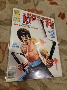 Marvel DEADLY HANDS OF KUNG FU Bruce Lee issue 28 GREAT CONDITION Curtis