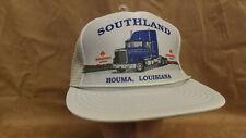 34aac741cc5fa Vtg Southland International Navistar Snapback Trucker Hat Cap NOS Houma LA