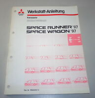 Workshop Manual Body Supplement Mitsubishi Space Runner / Wagon From 1997