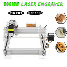500mw 2 Axis 2 Phase 4 Wire Mini Laser Engraving Cutting Machine Engraver Kit
