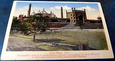 SUPERB POSTCARD OF JUMA MASJID,DELHI INDIA c1905-10