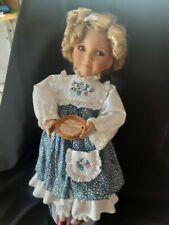 "Edwin M. Knowles - Goldilocks 15"" Porcelain Doll - No Box"
